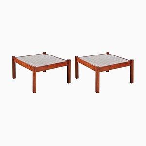Tavolini da caffè di Percival Lafer, anni '60, set di 2