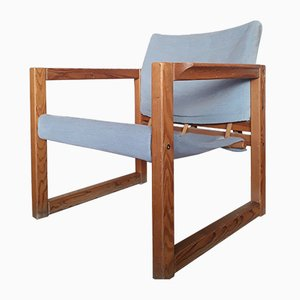 Diana Armlehnstuhl aus Holz von Karin Mobring für Ikea, 1970er