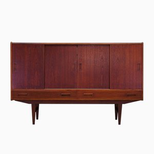 Vintage Danish Teak and Veneer Sideboard, 1970s