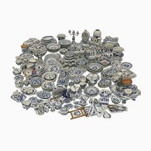 305 Piece Zwiebelmuster Porcelain Set from Meissen & Bohemia, 1950s