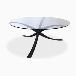Tavolino da caffè di Michel Mangematin, anni '70