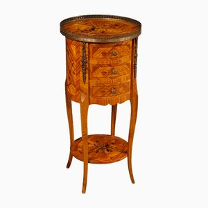 Antique Style French Rosewood Side Table, 1970s