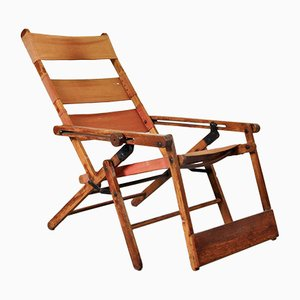 Model 480 Deck Chair by Hans & Wassili Luckhardt for Thonet, 1930s