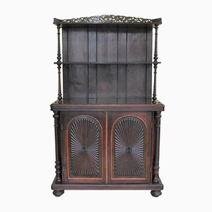 Antique Victorian Rosewood Cupboard