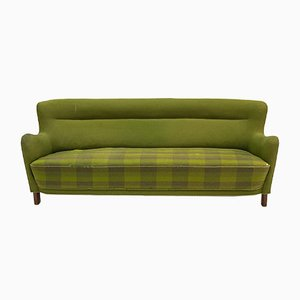 Danish Green Model 1669A/4468 Sofa from Fritz Hansen, 1960s
