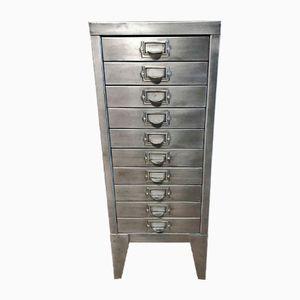 Vintage Industrial 15 Drawer Filing Cabinet