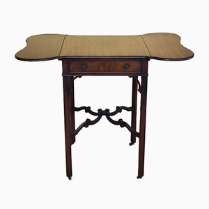 Mahogany Pembroke Table from S & H Jewel, 1920s
