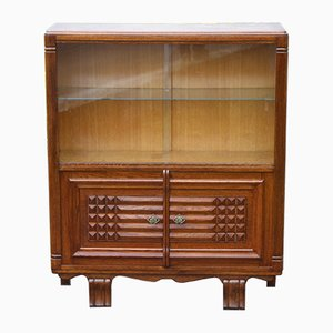 Mid-Century French Oak Bar Cabinet, 1950s