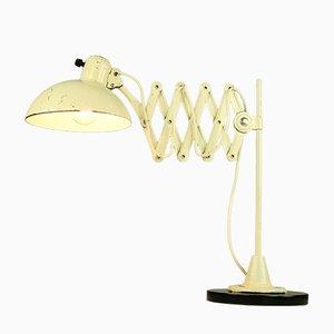 Lampada da tavolo vintage modernista di Christian Dell per Kaiser, Germania