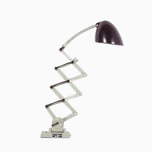 Lámpara de acordeón vintage, años 60