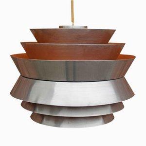 Lámpara colgante de Carl Thore para Granhaga, años 60