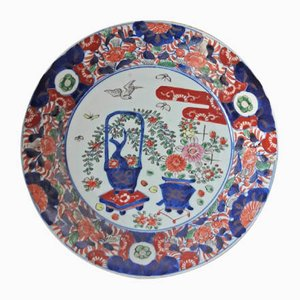 Antique Japanese Imari Plates Set