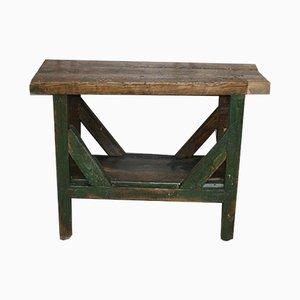 Kleiner antiker Werktisch aus Holz