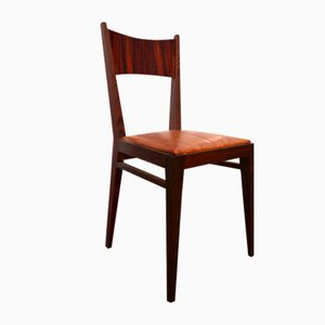 Portuguese Rosewood Chair, 1950s