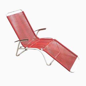Chaise de Jardin en Métal et en Plastique de Henkel Ideal, Allemagne, 1970s