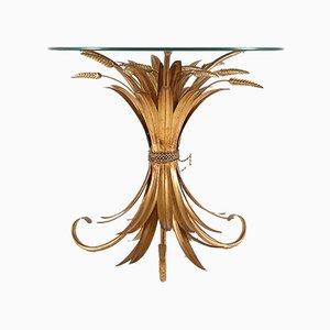 Mesa de centro vintage en forma de gavilla de trigo