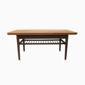 Table Basse en Teck par Kai Kristiansen pour Vildbjerg Møbelfabrik, Danemark, 1960s