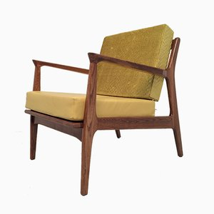 Danish Lounge Chairs By Ib Kofod Larsen For Selig, 1960s, Set of 2
