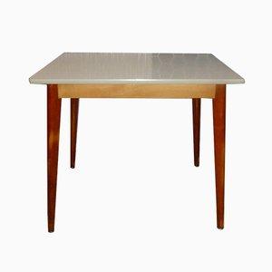 Mesa de madera, años 50