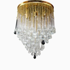 Italian Murano Glass Chandelier by Paolo Venini, 1960s