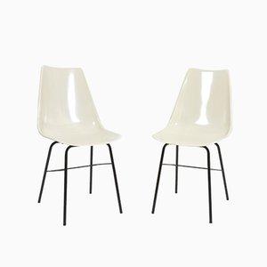 Stühle aus Glasfaser von Vertex, 1960er, 2er Set