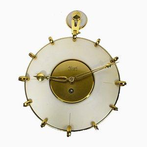 Reloj de pared Superia alemán era espacial de Kienzle, años 50