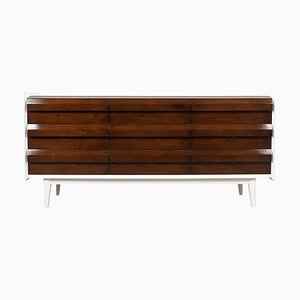 Lackierte moderne Mid-Century Kommode von Lane Furniture