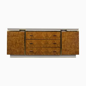 Mid-Century Modern Burled Dresser from Mount Airy