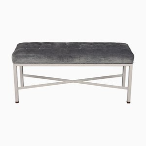 Modernist Tufted Seat Bench, 2000