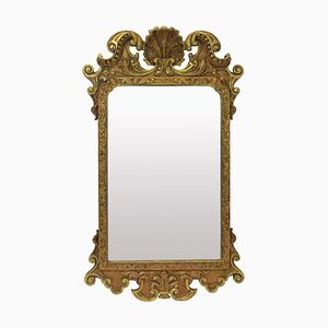 Antique George III Gilt Wood Mirror, 1810s