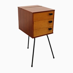 Mid-Century Steel and Wood Dresser, 1960s