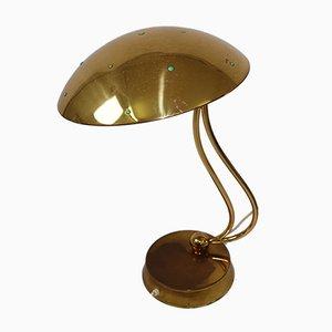 Lampada da tavolo Mid-Century in ottone, anni '50