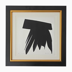 L-53 Lithograph by Hans Hartung, 1973