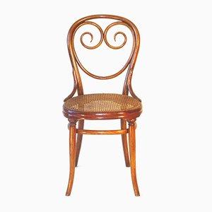 Chaises de Salon Antique en Hêtre de Thonet, Set de