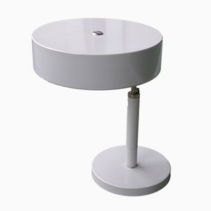 Lámpara de mesa industrial de Alfred Müller para Belmag, años 50