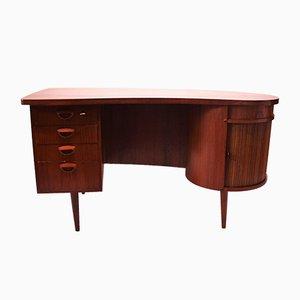 Skandinavischer Schreibtisch aus Teakholz im modernen Stil von Kai Kristiansen, 1960er