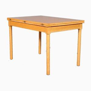 Model 4500 Beech Folding Table by Borge Mogensen for Fritz Hansen, 1960s