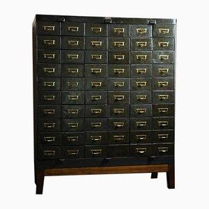 Mueble industrial vintage de metal de Morgan