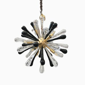 Murano Glass Sputnik Chandelier from Italian light design