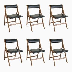 Chaise de Salon Eden par Gio Ponti, 1950s, Set de 6