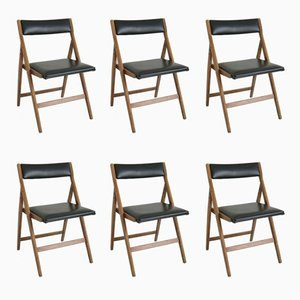 Eden Dining Chair by Gio Ponti, 1950s, Set of 10