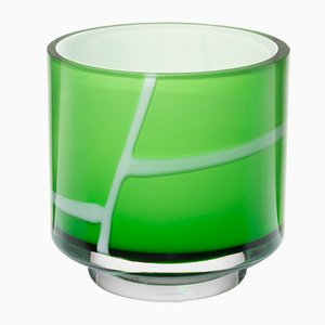 Green Spina Vase by Eric Schmitt