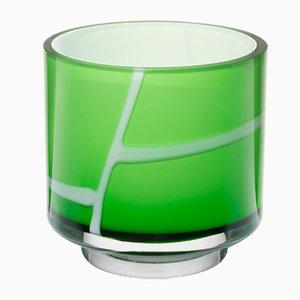Grüne Spina Vase von Eric Schmitt