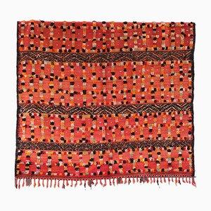 Umkehrbarer Vintage Teppich aus afrikanischer Baumwolle und Wolle, 1970er