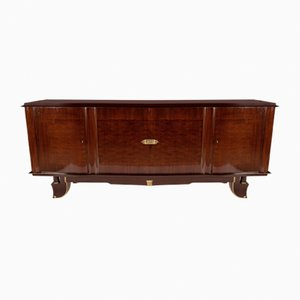 Sideboard aus Palisander & Messing, 1940er
