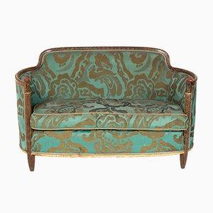 Grünes Bergère Sofa, 1920er