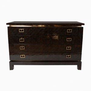 Black & Gold Dresser, 1980s
