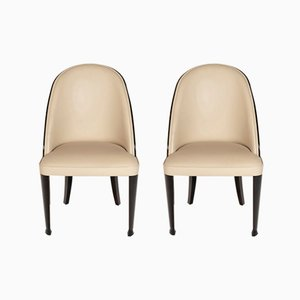 Bergere Side Chairs, 1920s, Set of 2