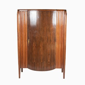Tall Wenge Cabinet, 1920s