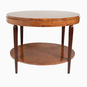 Amboyna Center Table, 1920s